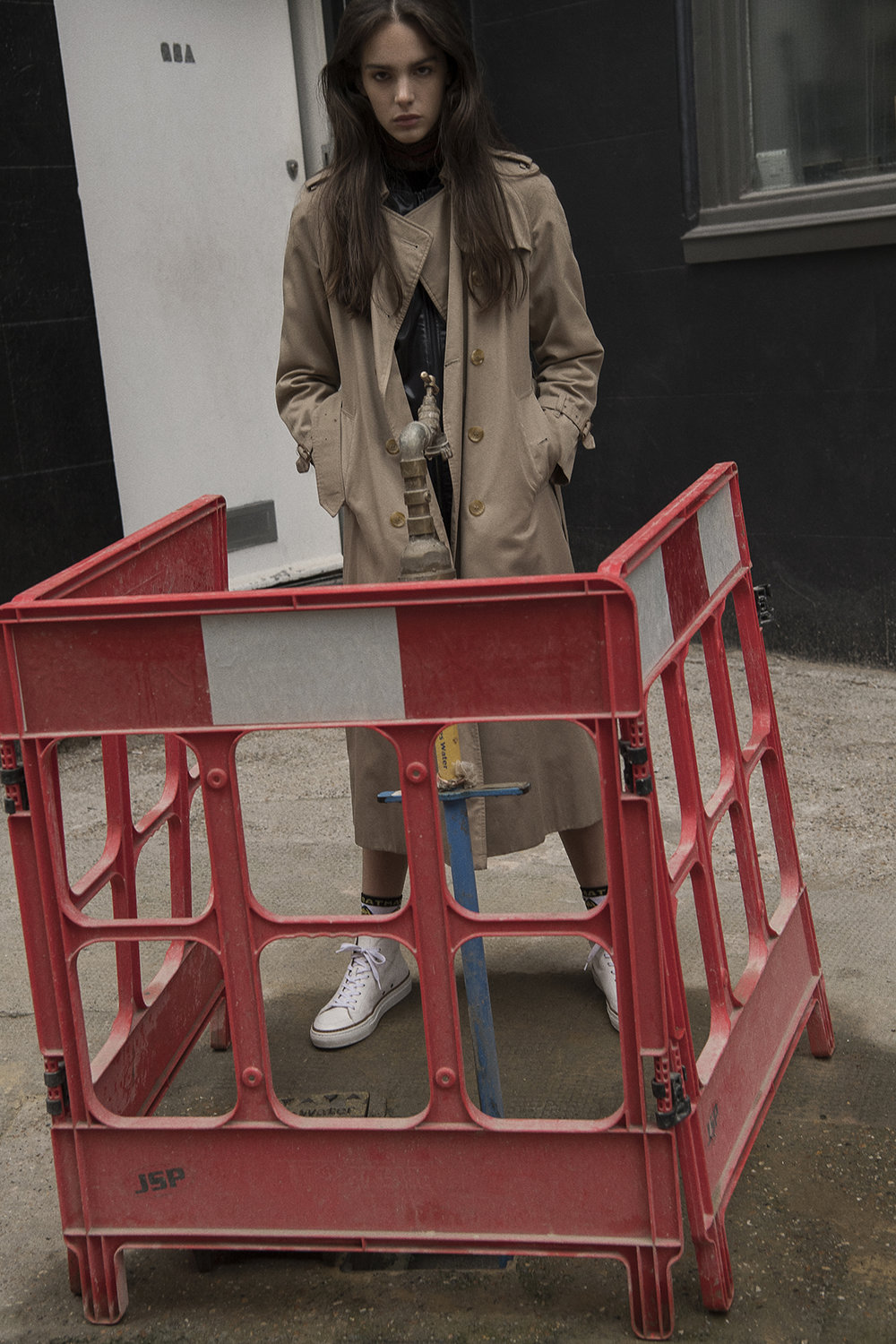 trench coat  burberry  track jacket  adidas  roll neck  alan auctor  shorts  maison kitsune  trainers  number 288