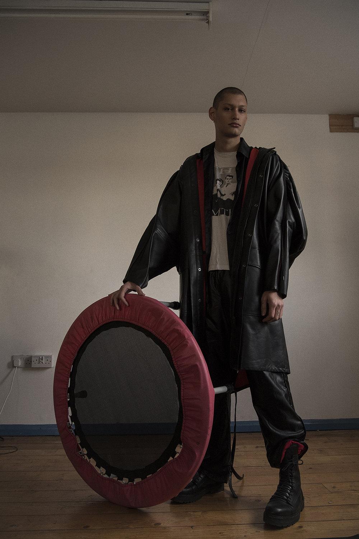 coat  priya ahluwalia  shirt  stylist's own  trousers  priya ahluwalia  boots  model's own