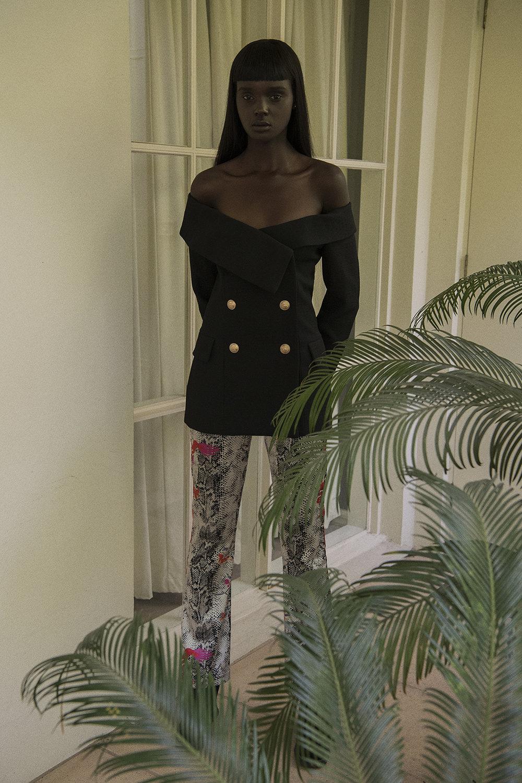 blazer  stylist's own  pants  nemo boutique  shoes  fleuvog