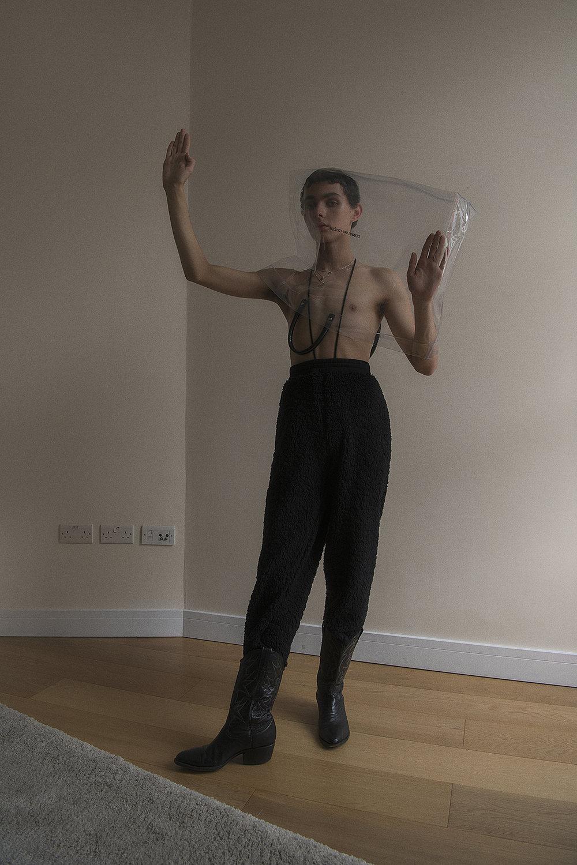 pants  cottweiler  boots  vintage  bag  comme des garçons