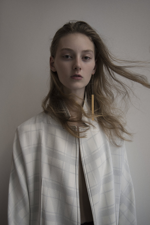 coat  acne studios  earring  céline