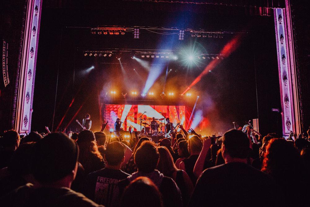 Asking Alexandria • The Midland • Kansas City, MO • 0./12.18