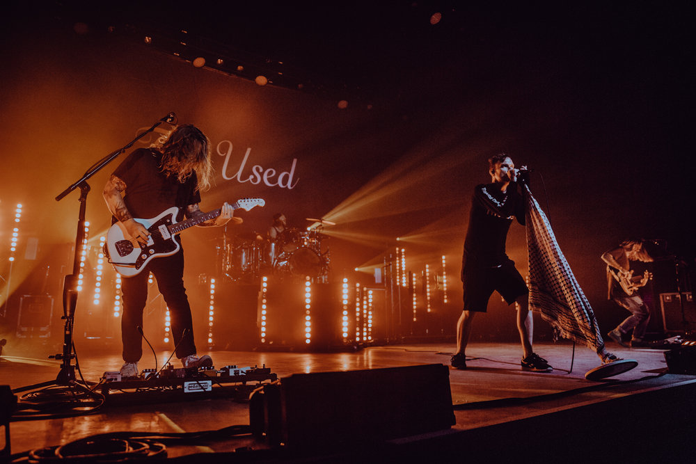 The Used • The Clyde Theatre • Fort Wayne, IN • 05.12.18