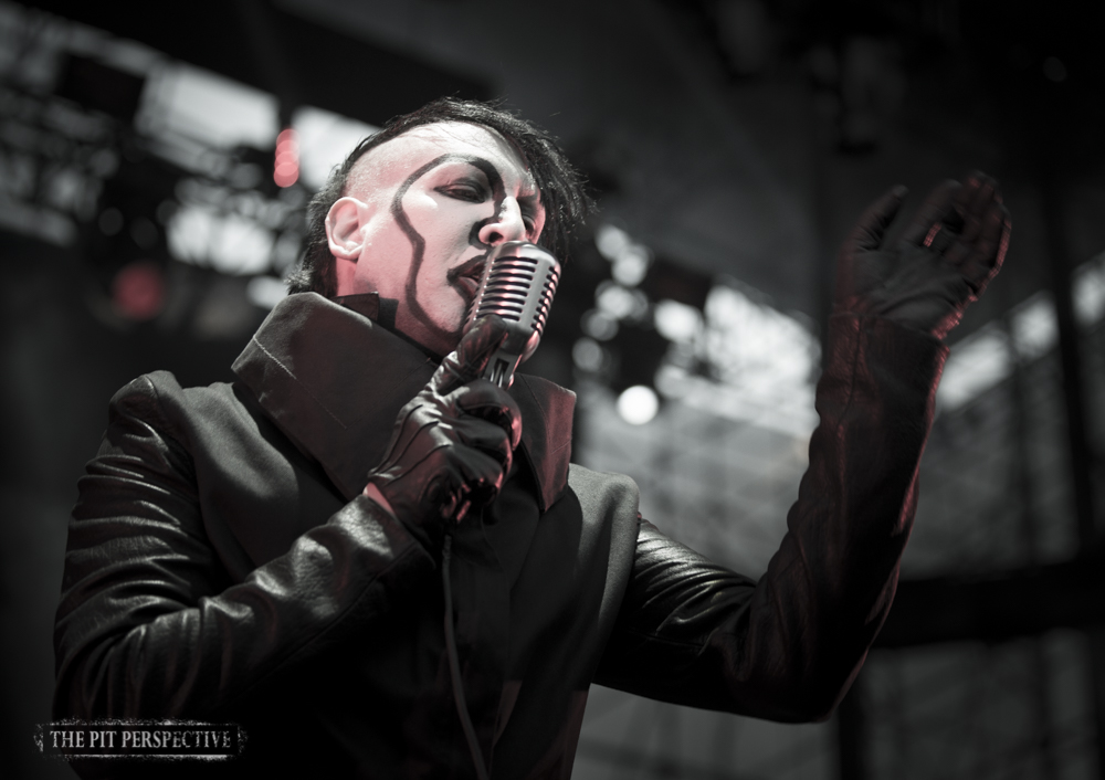 Marilyn Manson/Smashing Pumpkins, Irvine Meadows