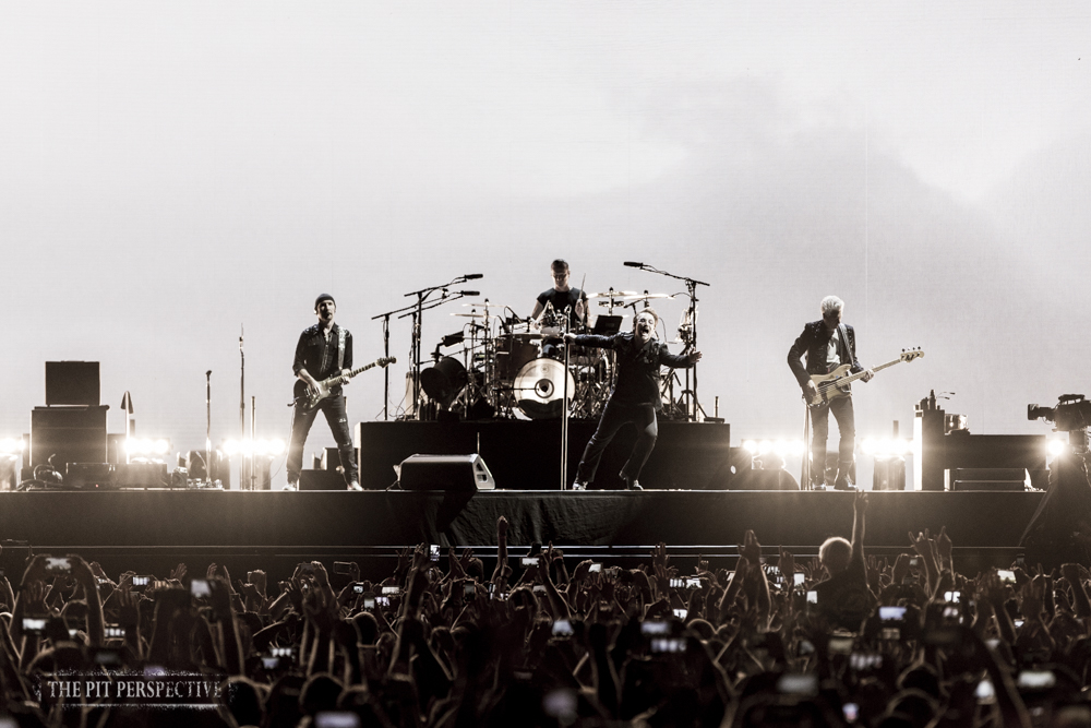 U2, The Rose Bowl