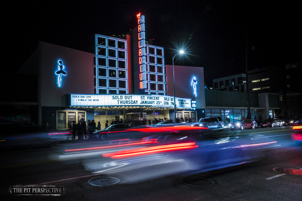 St. Vincent, The Hollywood Palladium, Los Angeles, California