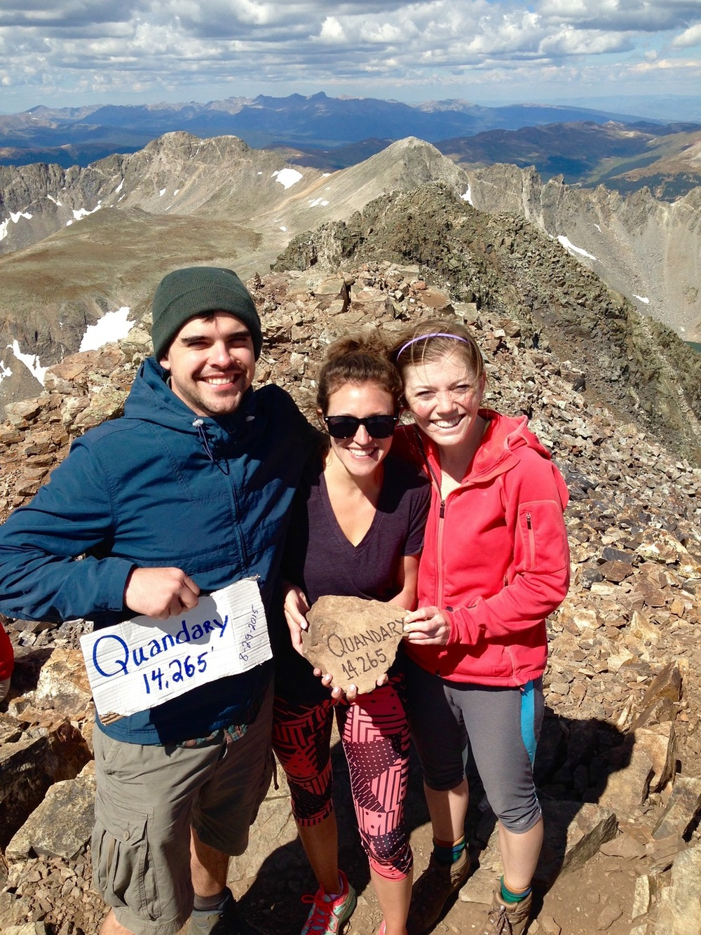 Quandary Peak Breckenridge Colorado Fourteener
