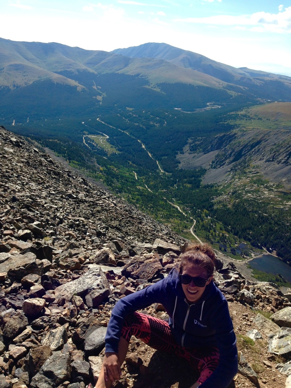 Breckenridge Colorado Fourteener Quandary