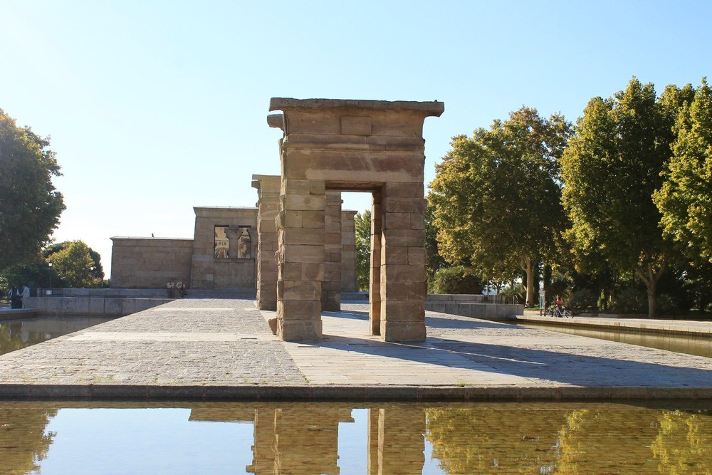 Temple of Debod by Day Mardrid
