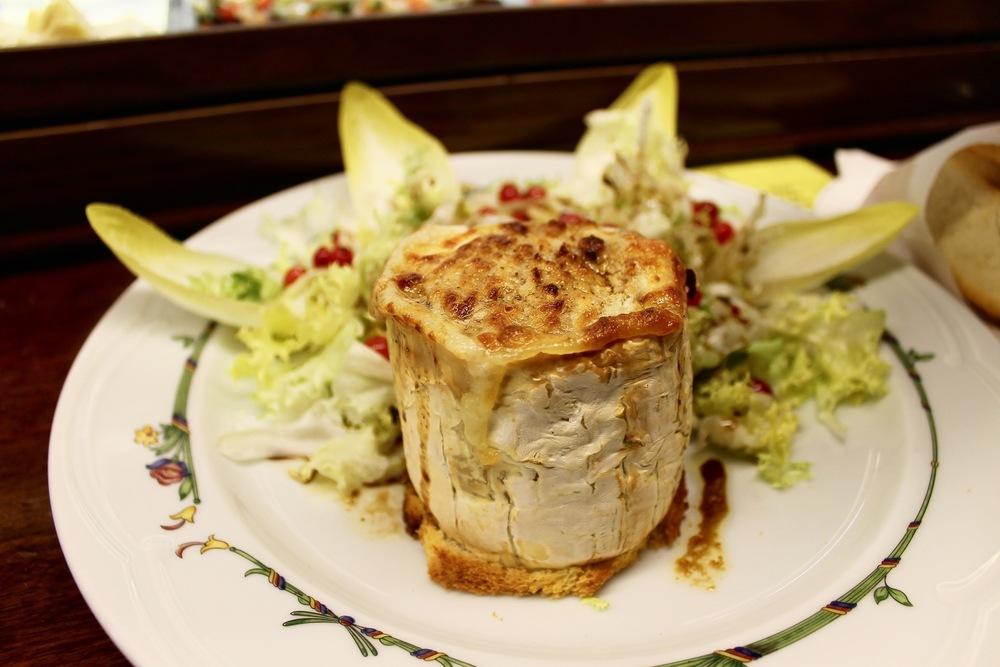 Goat Cheese Salad el Sitio Barcelona