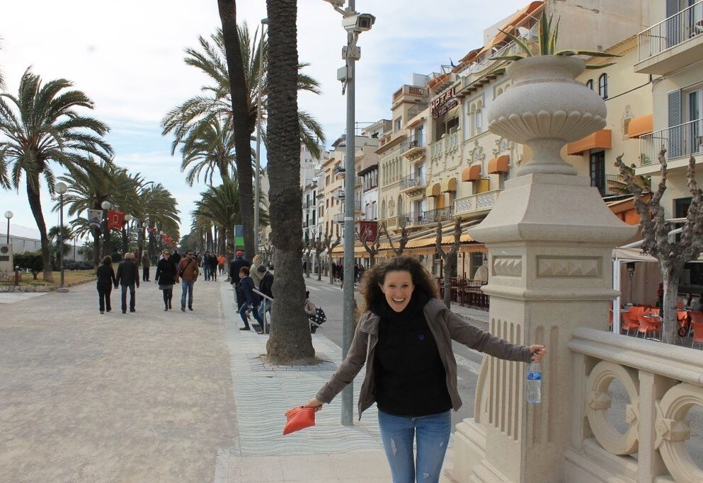 Sitges Winter Beach