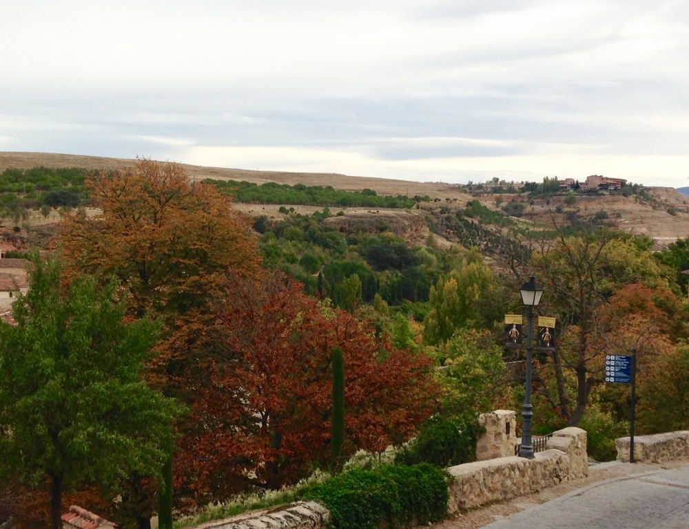 Running Path in Segovia