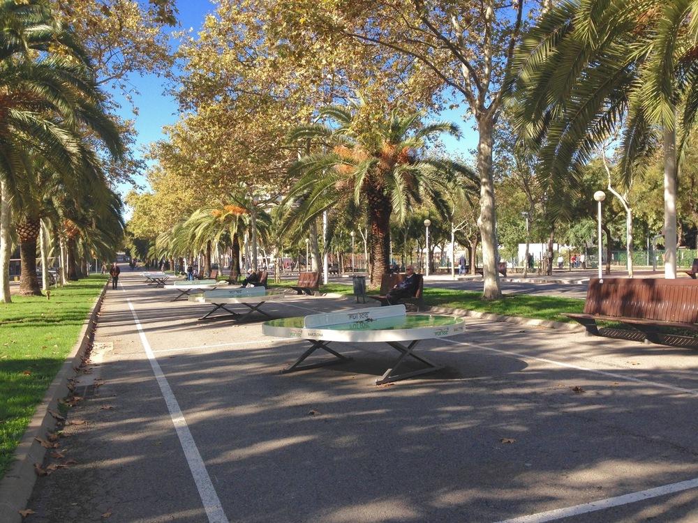 Diagonal Barceloneta Barcelona