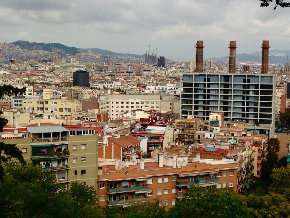 Sagrada Familia Monjuic Barcelona