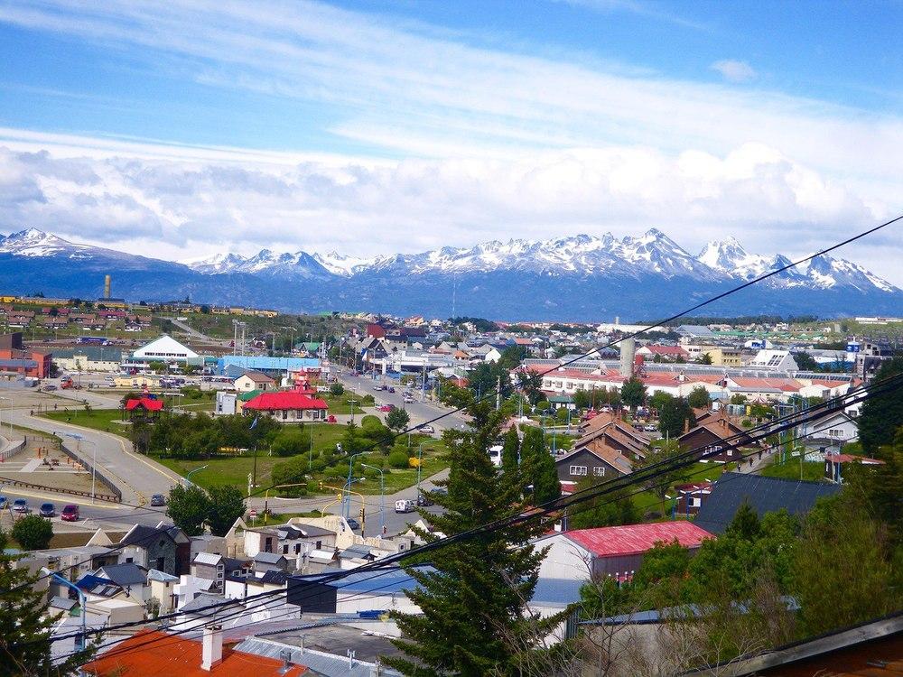 Tierra del Fuego Ushuaia Paragonia Argentina