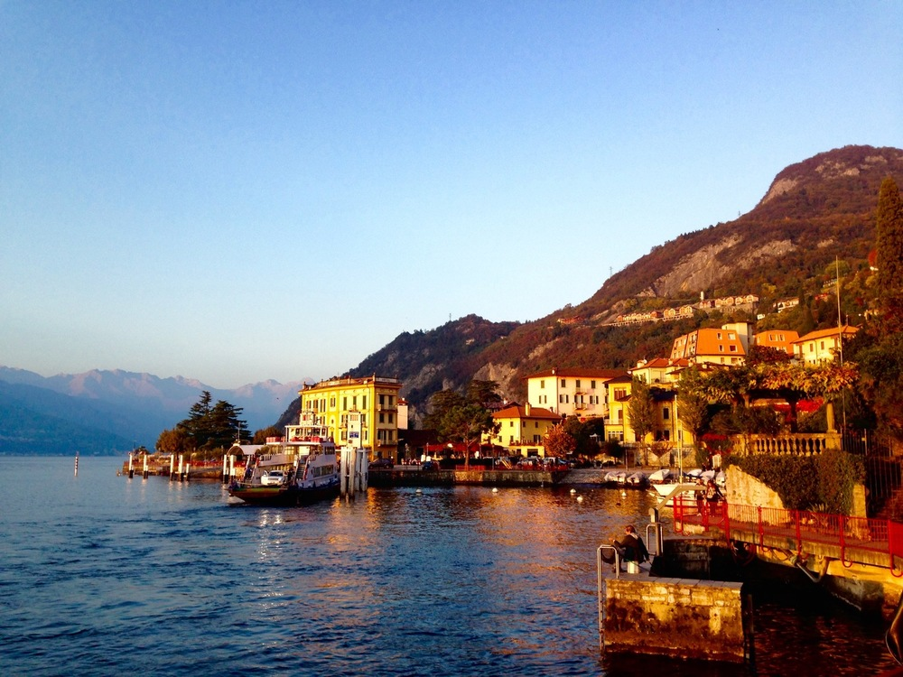 Varenna from Lake View Lake Como