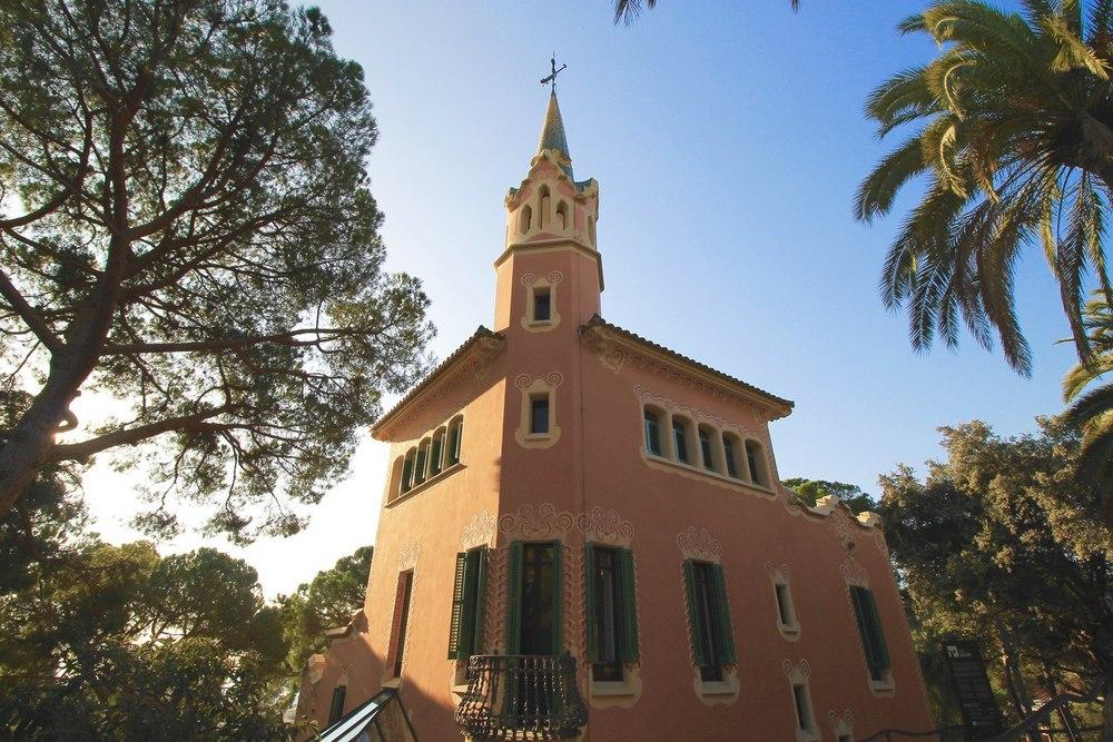 Gaudi's House Park Guell Barcelona