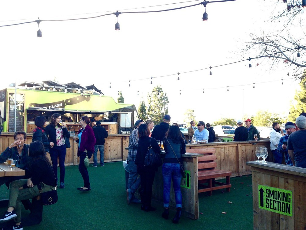 Green Flash Brewery Outdoor Space