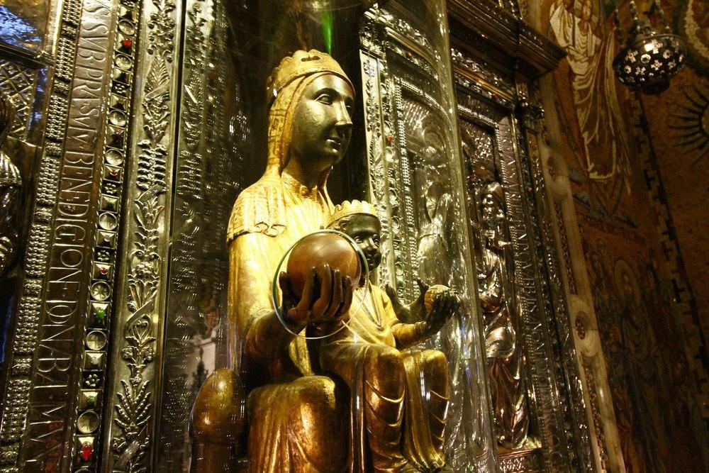 Black Madonna Montserrat