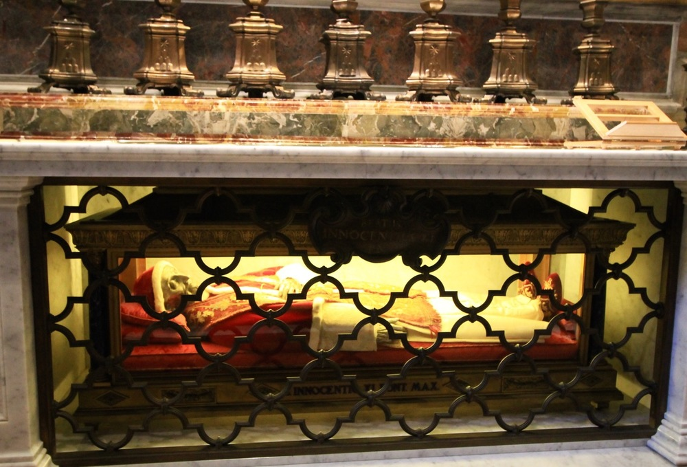 Incorrupt Bodies St. Peter's Basilica