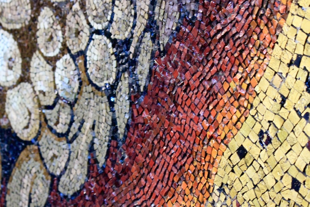 Mosaic not Paint St. Peter's Basilica