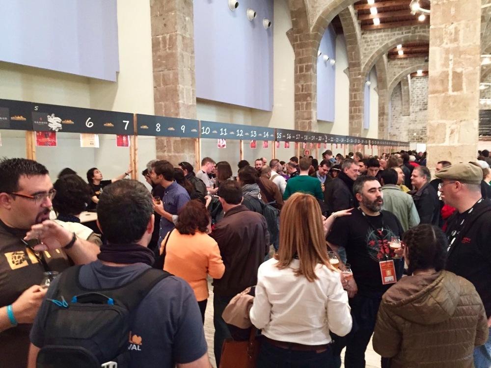 Barcelona Beer Festival BBF museu marítim de barcelona