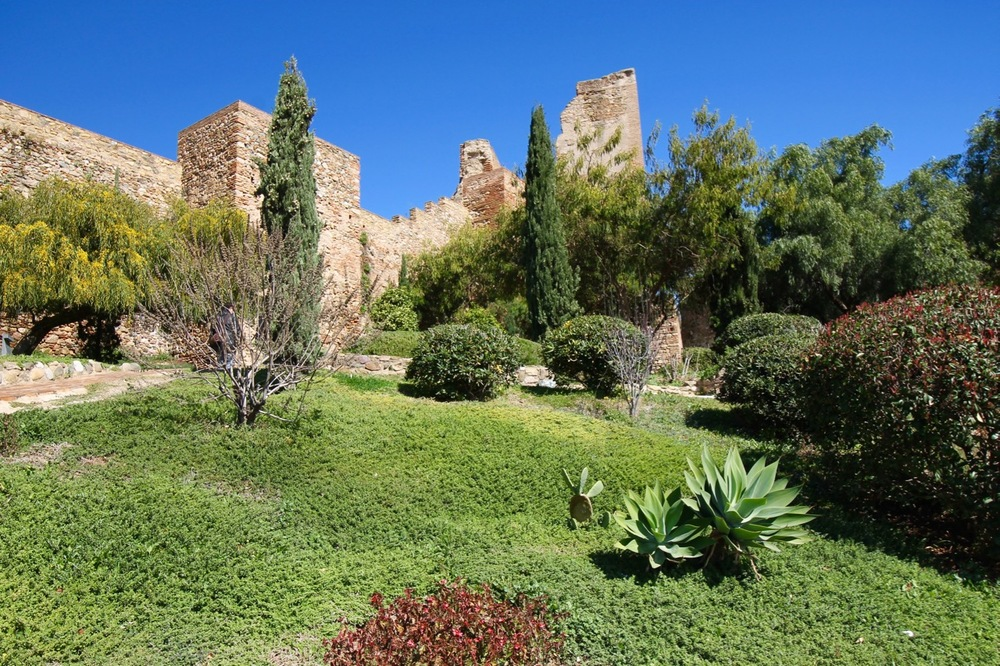Traveling without plans Alcazaba in Malaga