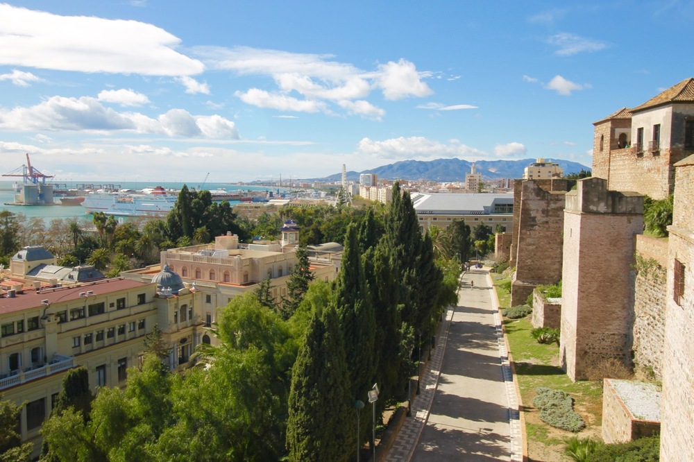Alcazaba Path Malaga
