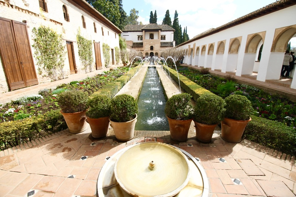 Traveling without a plan Generalife Garden Alhambra Granada