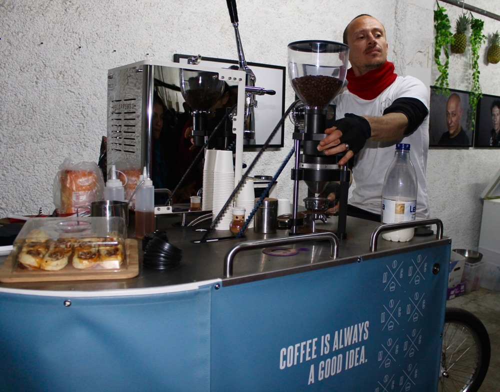 Barcelona Eat Street Milk and Coffee