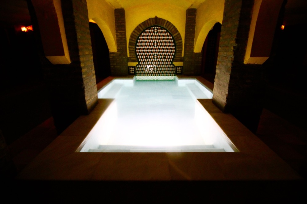 Traveling without a plan Granada Hammam