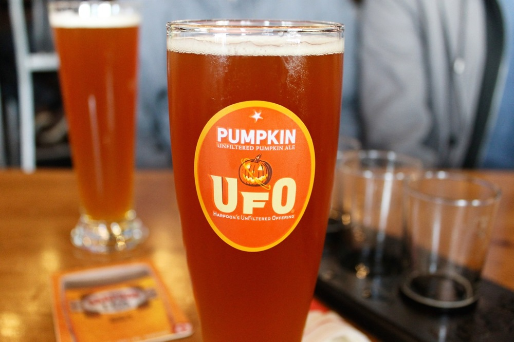 Harpoon Pumpkin Beer Boston New England