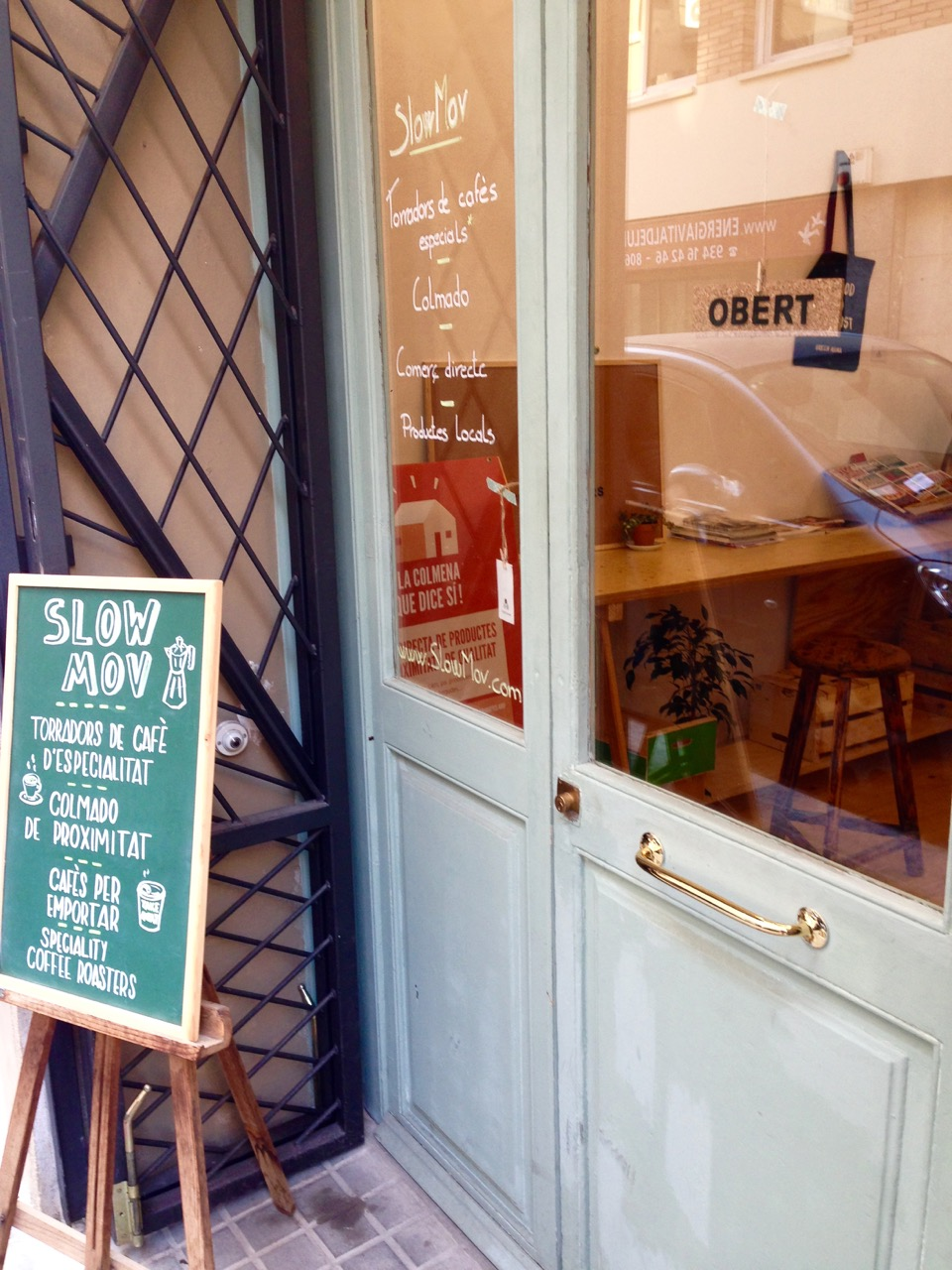 Slow.Mov Coffee Barcelona Coffee Gracia