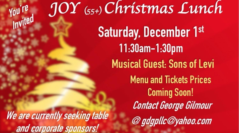 J.O.Y. 55+ Christmas Luncheon — Lighthouse Church