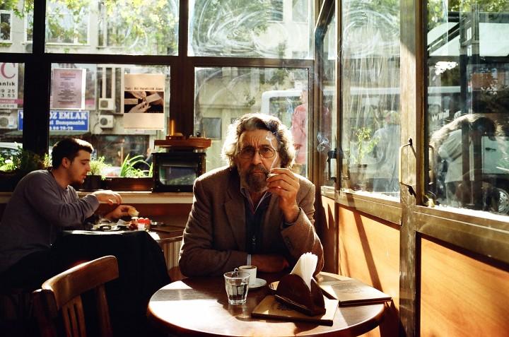 Yosef in a Café in Istanbul, Turkey 2008 shot on a Leica M6