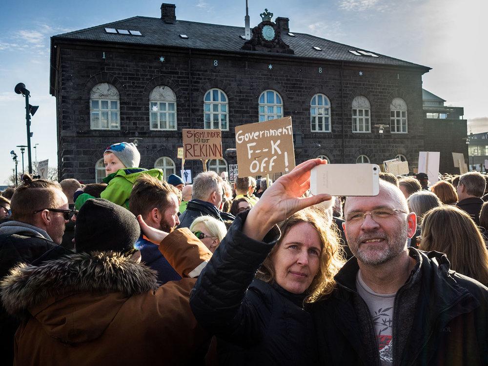 Panama Papers Protests, Reykjavík 2016