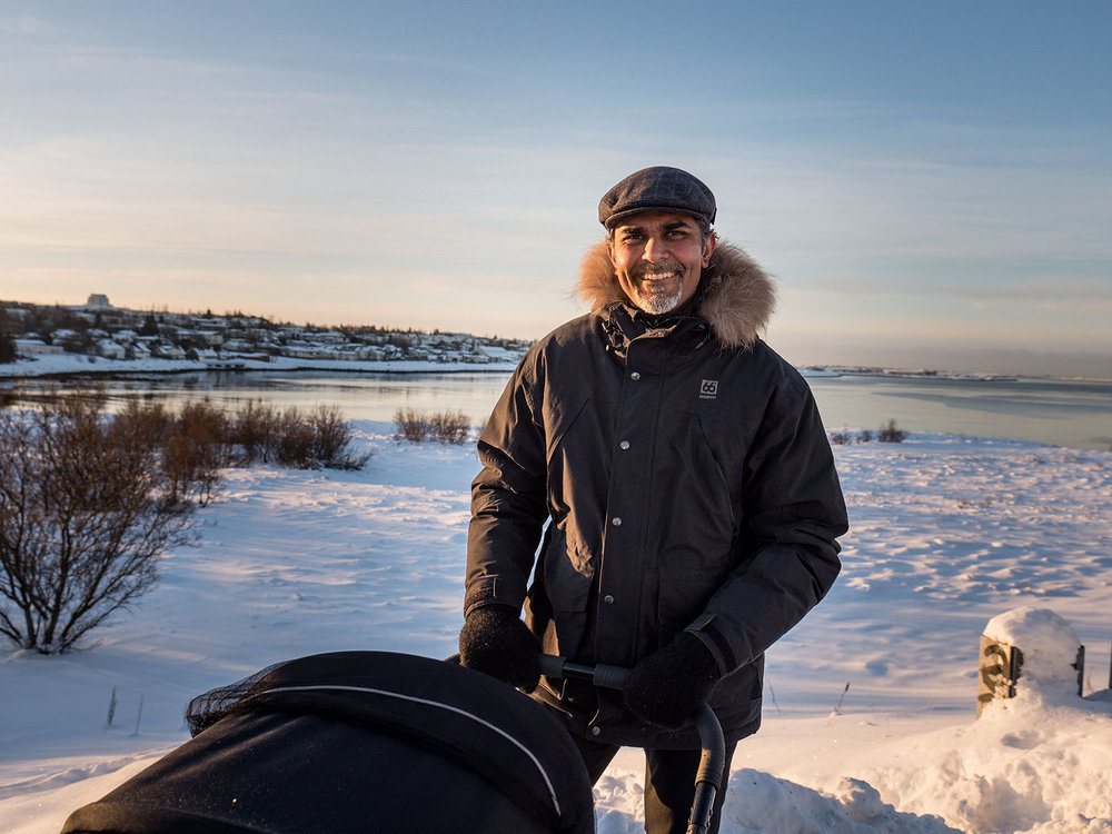 Bala, founder of Startup Iceland and CFO at TravelShift & Guide to Iceland