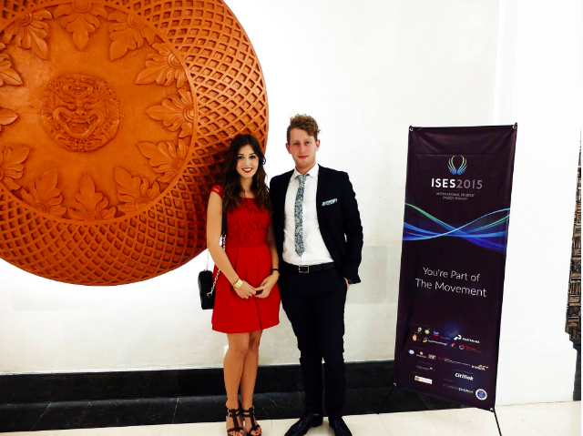 Michela Magni (Project Officer for Solutions), Ian Lieblich (City Coordinator - Sydney) and Reem Al-Mansoori (Project Officer for Education) attended the NUSA DUA International Student Energy Summit in Indonesia June 2015