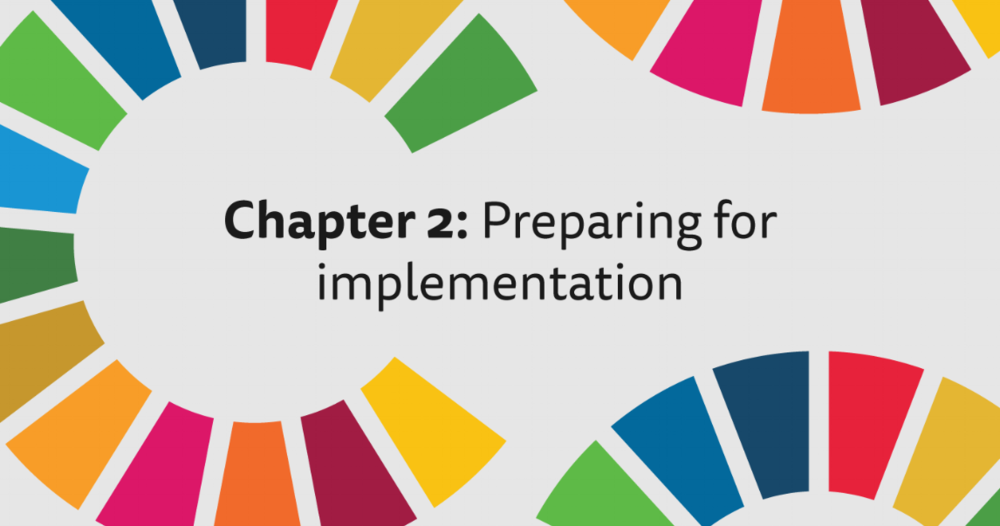 Chapter 2: Preparing for implementation - Taking stock and identifying priorities for implementation