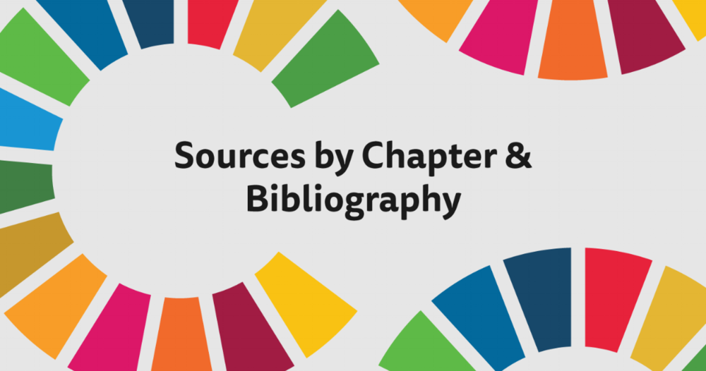 Sources by Chapter & Bibliography - References for SDG.guide