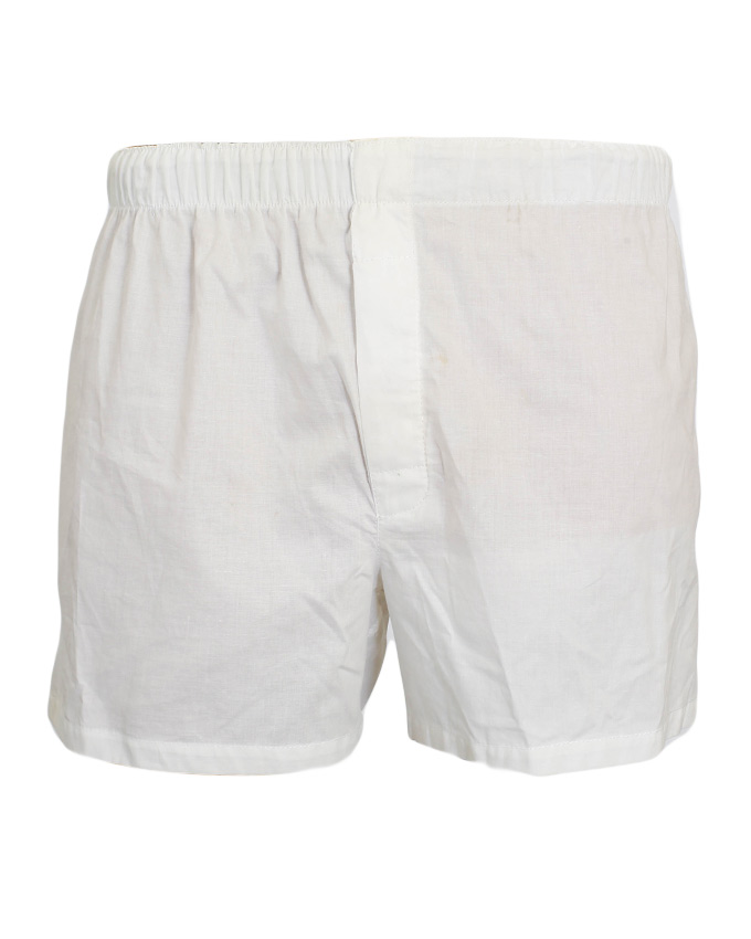 White Boxer Shorts — One Hundred Years a616c0cf15a