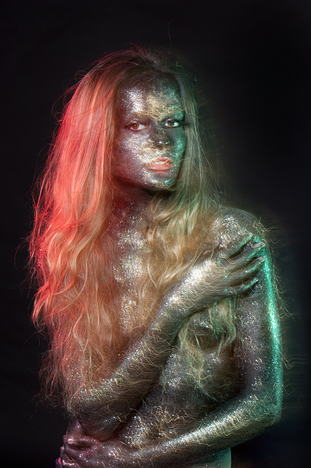 Rachael Sture Photography personal work electric beauty fashion