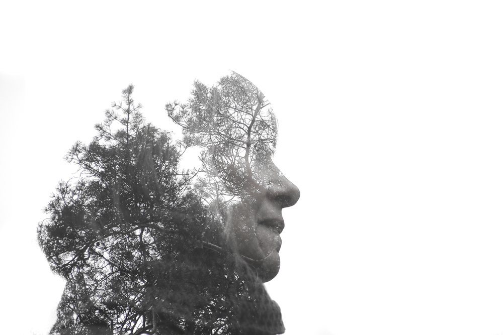 Rachael Sture Photography nature personal work double exposure human nature