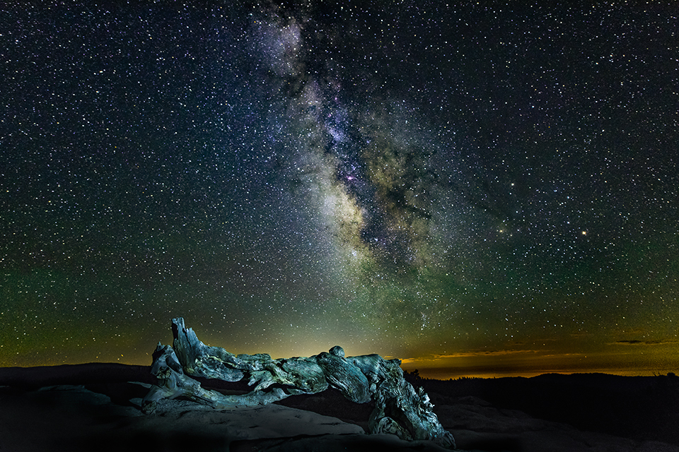 Milky Way on Sentinel Dome.