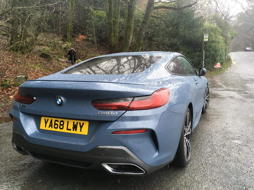 2019 Bmw 8 Series Review 840d Xdrive Coupe Tom Bromley Talks