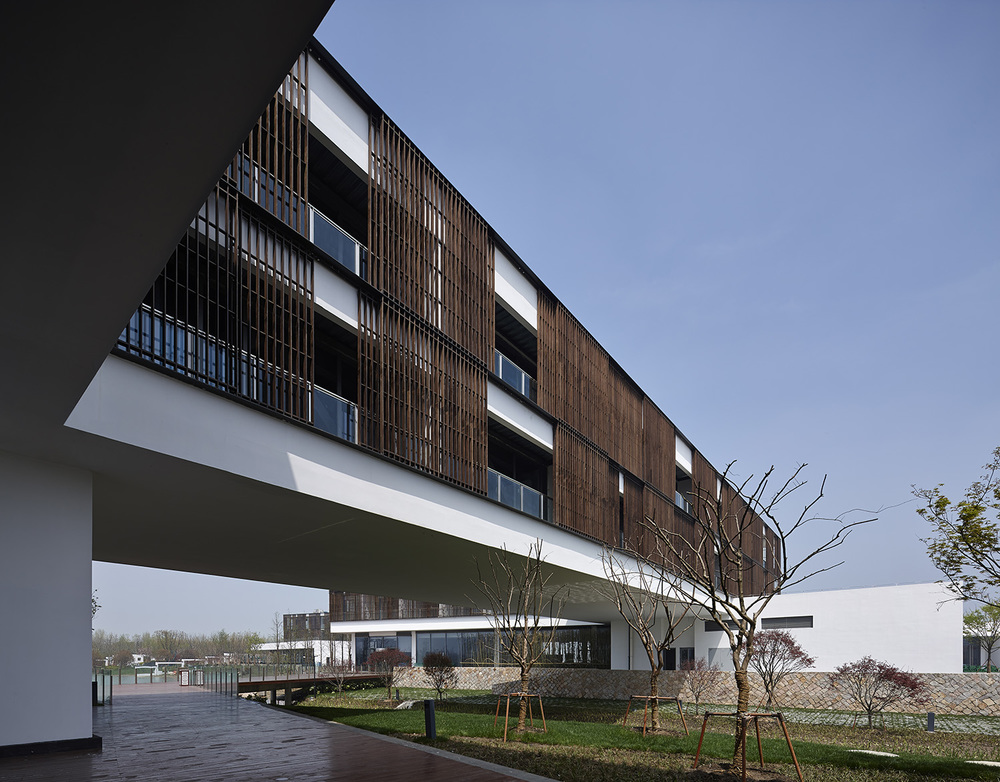 江苏省园博会综合服务中心和酒店,苏州  Service Center and Hotel for Jiangsu Horticultural Expo, Suzhou