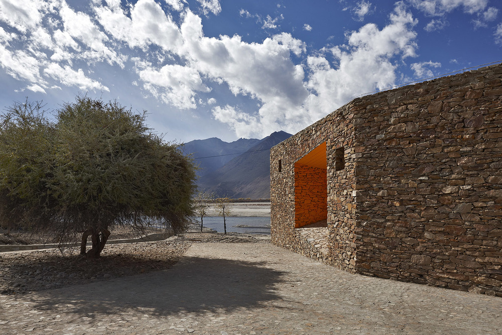 尼洋河游客中心, 西藏 Niyang River Visitor Center, Tibet  -READ MORE-