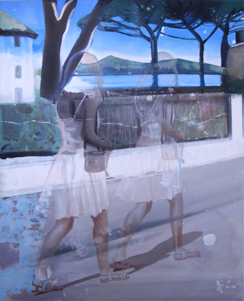 perfect the memory of water i oil on canvas x cm with 130 cm