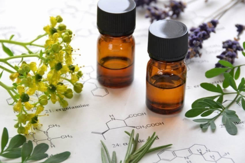 ESSENTIAL OILS   An essential oil is a liquid that is generally distilled (most frequently by steam or water) from the leaves, stems, flowers, bark, roots, or other elements of a plant. There are many therapeutic grade brands available on the market. Treatment involves placing particular oils on specific acupuncture points on the body in order to stimulate the body's internal resources. The method of treatment is called Aroma Acupoint Therapy™ . It works on the basis of mutual resonance of the combination of essential oils and acupuncture points.  Snow Lotus essential oils are utilized in treatment and offered for purchase. They are bioactive and certified organic essential oils produced by traditional steam distillation, sourced from small producers worldwide.