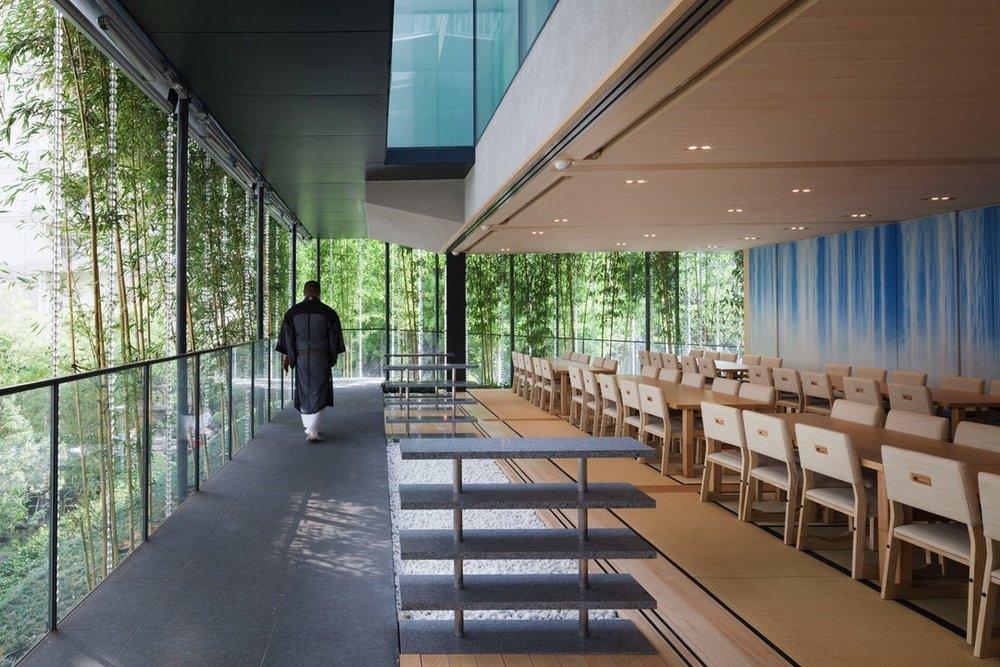 Ekoin Nenbutsudo by Yutaka Kawahara Design Studio, Tokyo, Japan